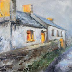 Irish Cottage, Winter