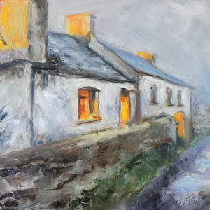 Irish Cottage, Winter