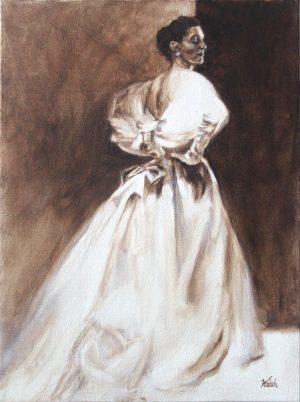 Balenciaga Beauty, 1954