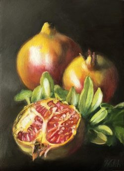 Golden Pomegranates
