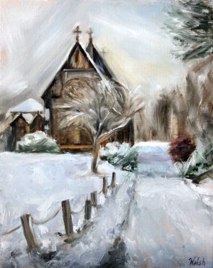 Country Church, Winter